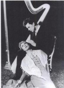 O Estudante e a Jovem na produção de 1954 de Bergman