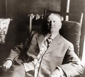 Foto de uma das raras entrevistas de O'Henry