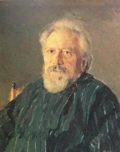 O escritor russo Nikolai Leskov